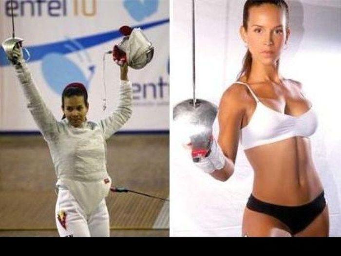 Алехандра Бенитес Ромеро стала министром спорта Венесуэлы (9 фото)