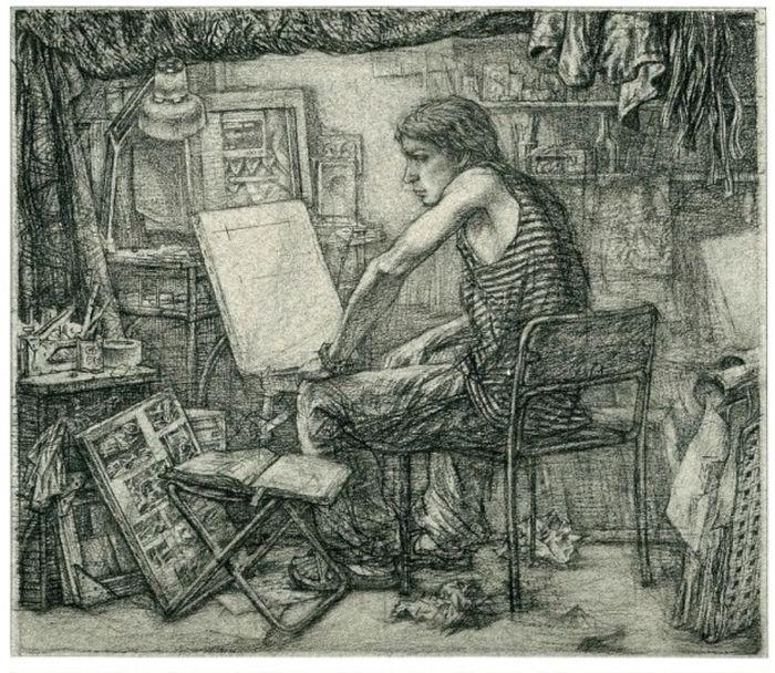 Классные зарисовки про жизнь в общаге (12 рисунков)