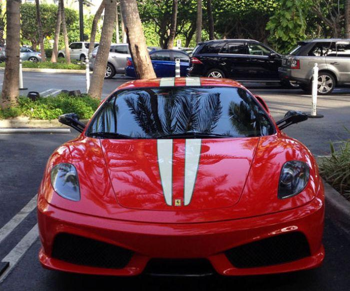 Ferrari 430 Scuderia 300 Km/saat Kaza Yaparsa(7 Fotograf)