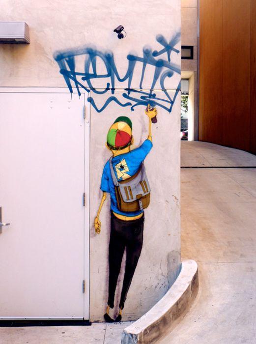 Классный стрит-арт (50 фото)