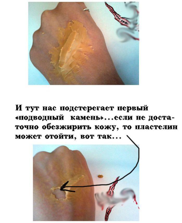 Учимся делать правдоподобные порезы на своем теле (11 фото)