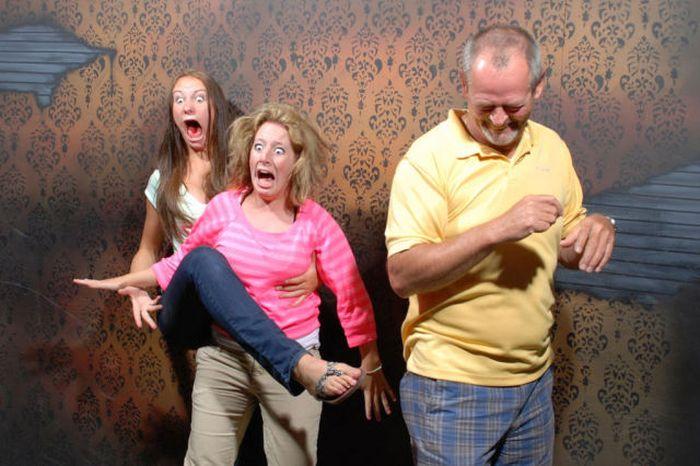 Необычные фотографии странных людей