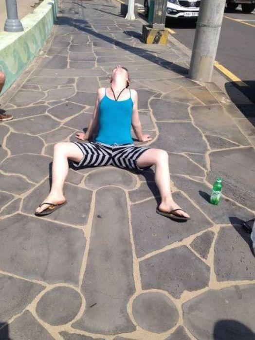 Необычные фотографии странных людей (66 фото)