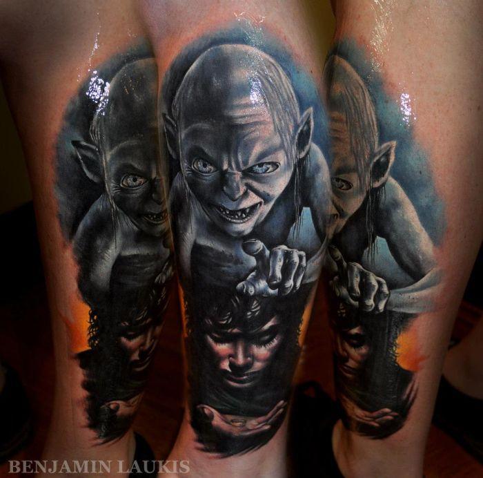 Профессиональные татуировки (63 фото)