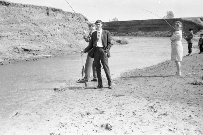 Сельская свадьба 1964 года в Рязанской области (56 фото)