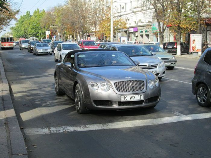 ������ ������ ������ �� Bentley Continental GT (4 ����)