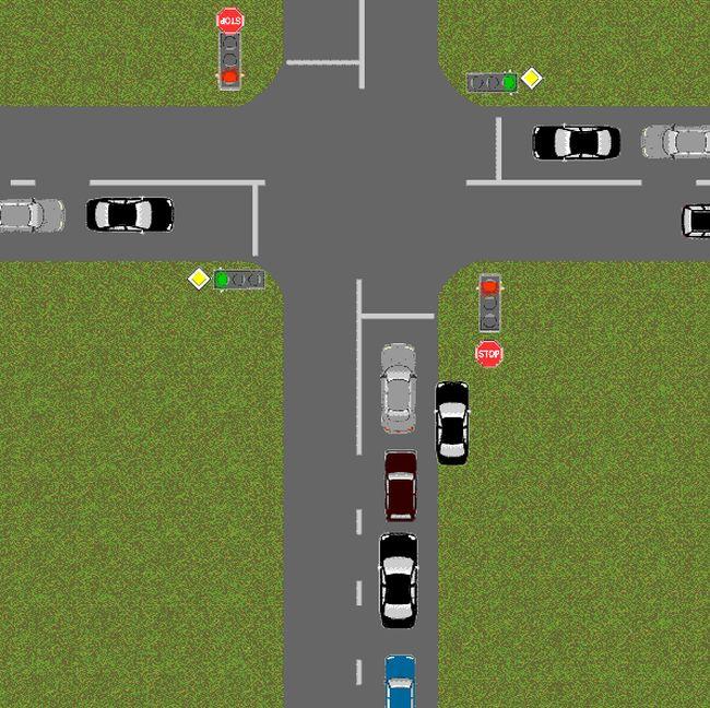 Обнаглевшие водители (1 гифка)
