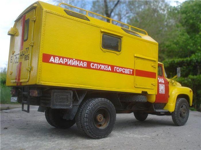 Необычный автомобиль аварийной службы (10 фото)
