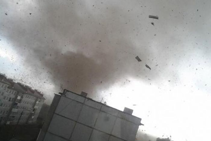 Торнадо в Тульской области (12 фото + 5 видео)