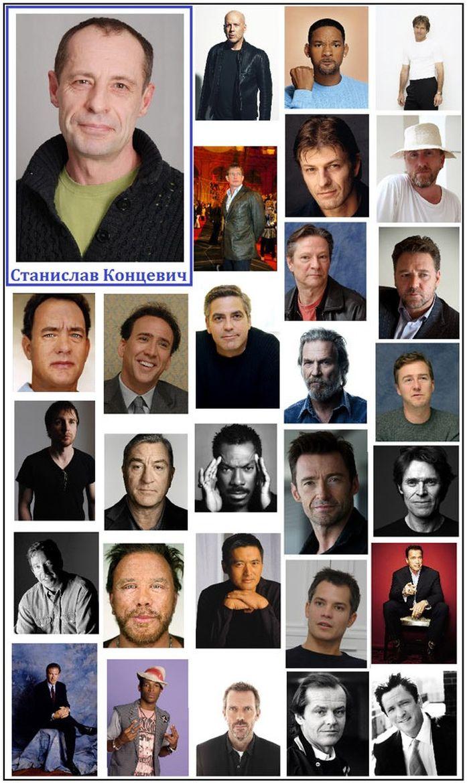 Люди, которые дублируют известных актеров (7 фото)