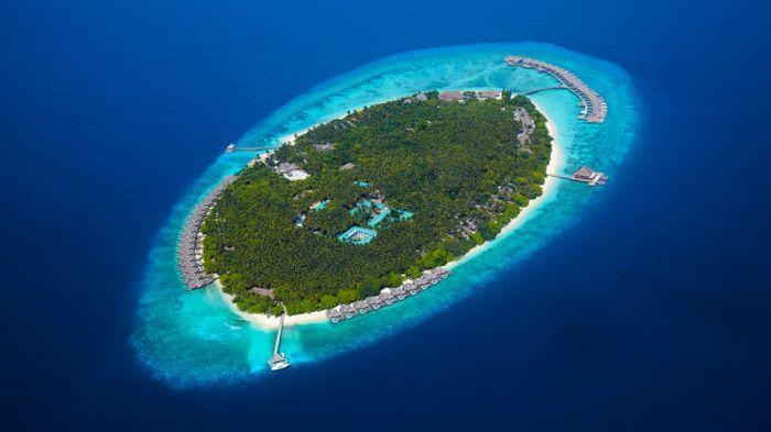 Райский остров для любителей шикарного отдыха (36 фото)