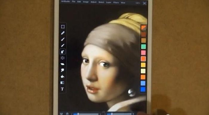iPad İle Müthiş Çizim(13 Fotograf)