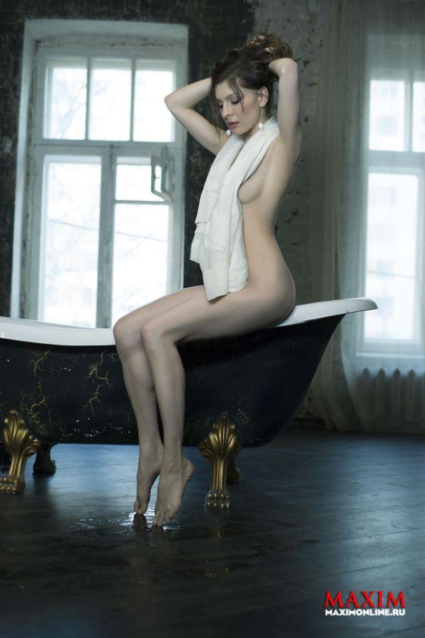 Откровенная фотосессия Елены Подкаминской (6 фото)