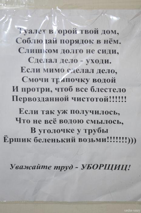 Смешные надписи (53 фото)
