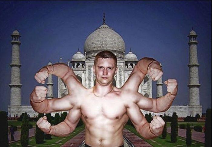 """""""Шедевры"""" фотошопа"""