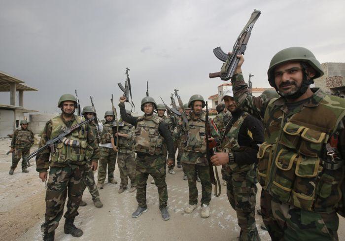 Война в Сирии (36 фото)