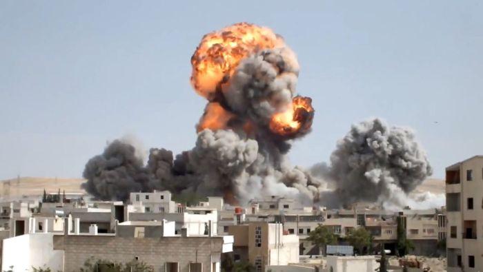 Suriye'de Savaşla Birlikte Yaşam...(36 Fotograf)