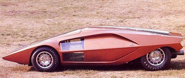 Огромная коллекция концептуальных автомобилей 70х годов