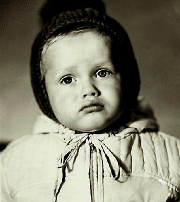 Как выглядели знаменитые люди в детстве (94 фото) » Триникси
