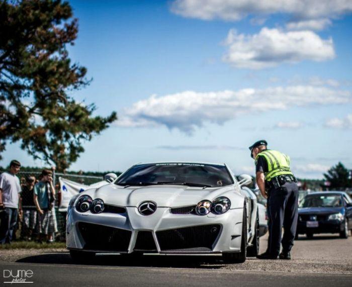 Заряженные автомобили и сногсшибательный тюнинг (62 фото)