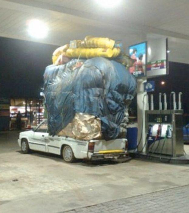 Сумасшедшие грузоперевозки (30 фото)