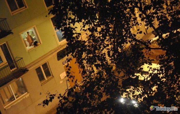 Обычный вечер в общаге (3 фото)