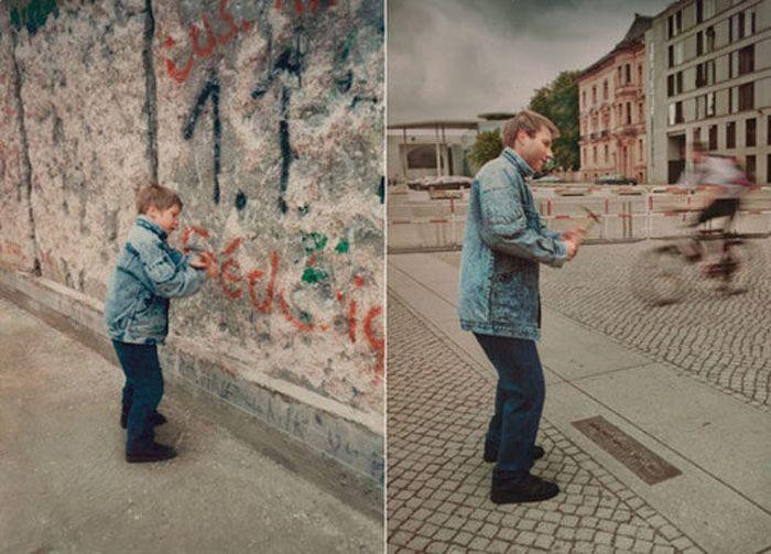 """Отличная коллекция снимков в стиле """"тогда и сейчас"""" (52 фото)"""