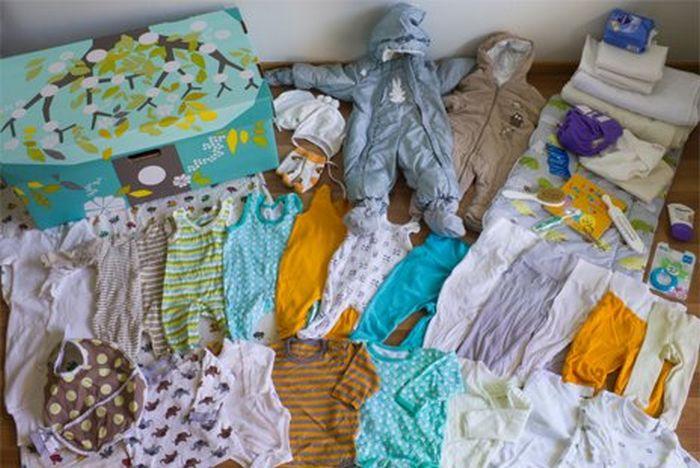 Загадка дня - финские младенцы (2 фото)