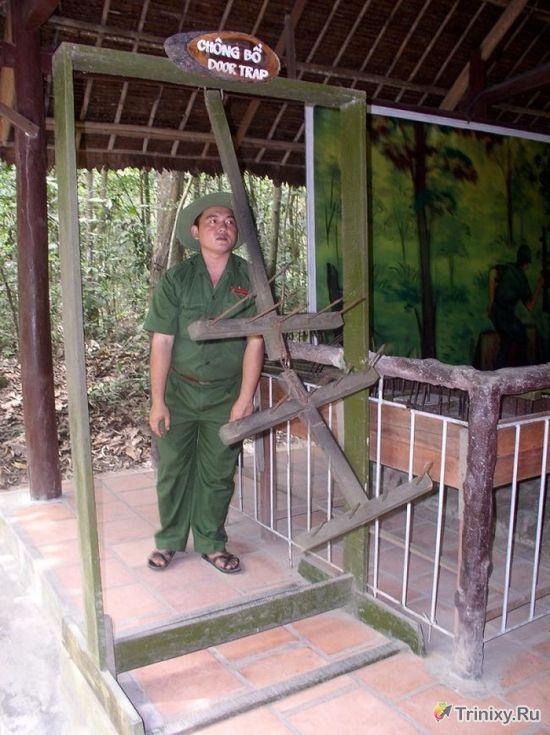 Жуткие самодельные ловушки вьетнамских партизан (8 фото + текст)