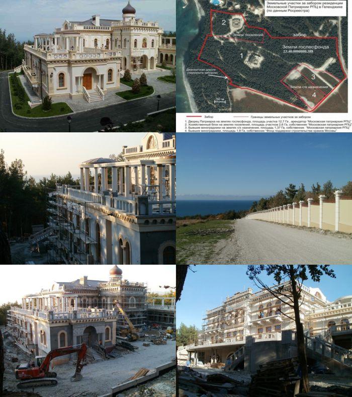 Элитные резиденции известных олигархов (8 фото)