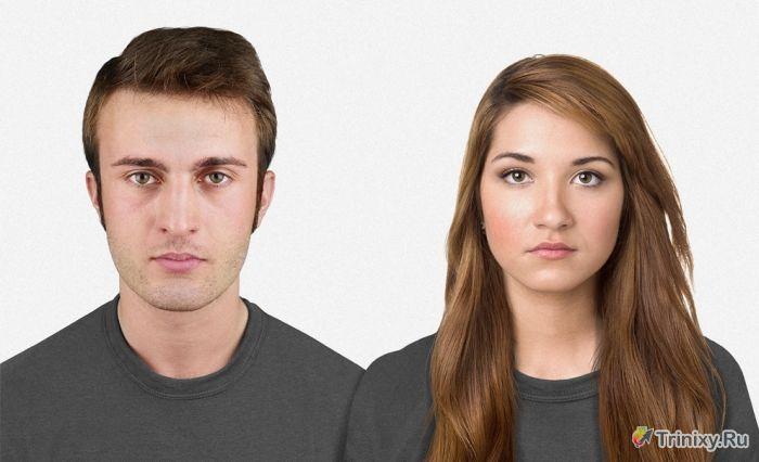 Как изменится внешний вид людей через 100 тысяч лет (4 фото)