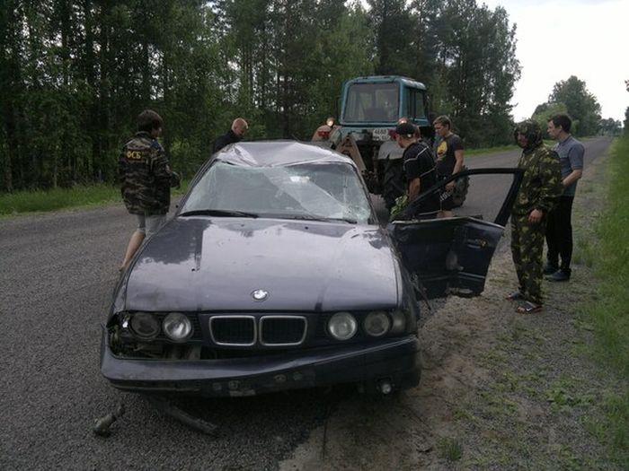 Водитель УАЗА устроил сумасшедшие гонки с полицией в Егорьевске (19 фото + видео)