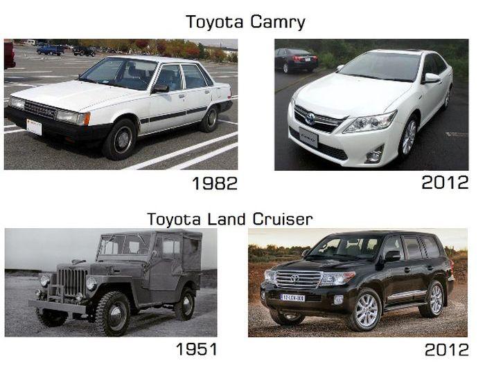 Eski ve Yeni Model Arabalar (17 Fotograf)