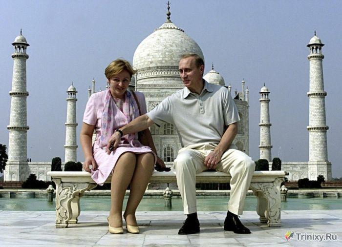 ТОП-10 событий в семейной жизни президента РФ (10 фото)