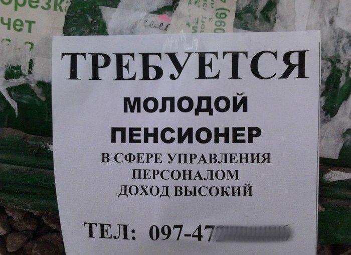 Смешные надписи (29 фото)