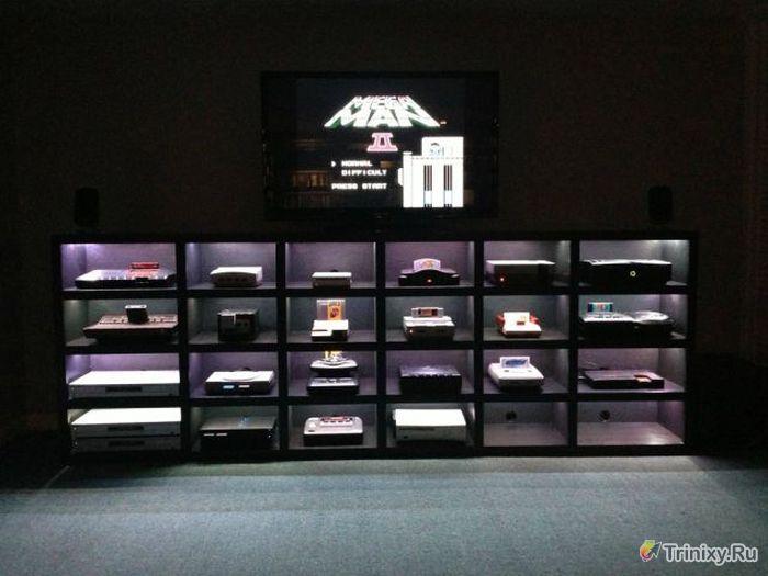 Крутая коллекция видеоприставок (37 фото)