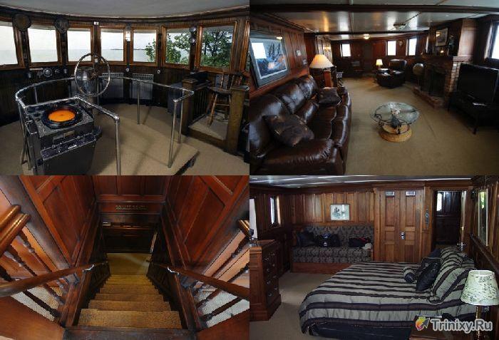 Креативные дома из старых кораблей (31 фото)
