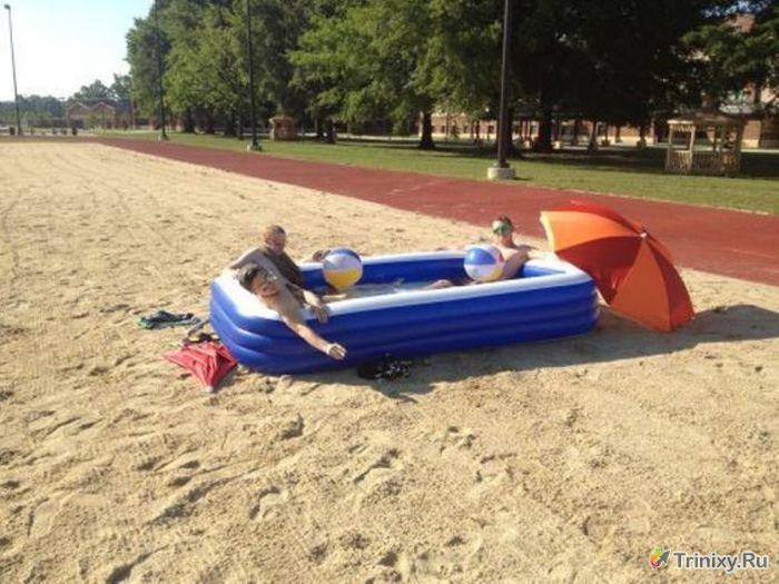 Как отдыхают зарубежные студенты. Часть 6 (56 фото)