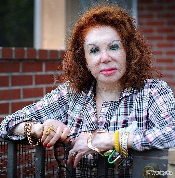Мама Сильвестра Сталлоне сожалеет о пластических операциях (4 фото)