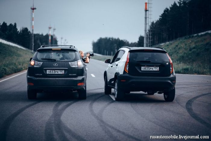 """Российский гибрид """"Ё-мобиль"""" был представлен в Санкт-Петербурге (42 фото + видео)"""