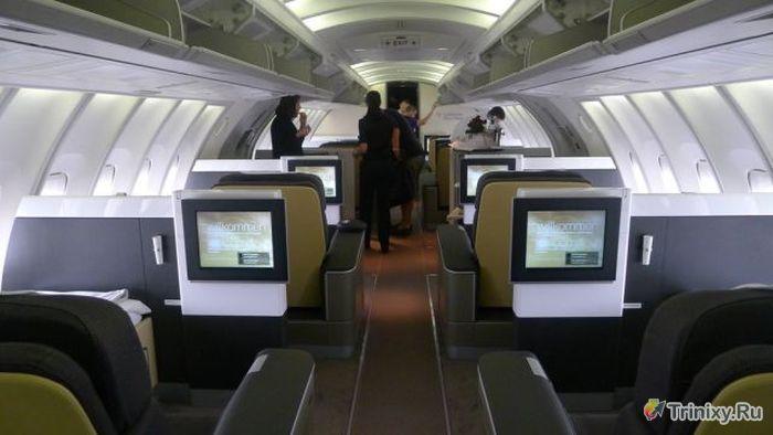Вы когда-нибудь летали первым классом? (15 фото)