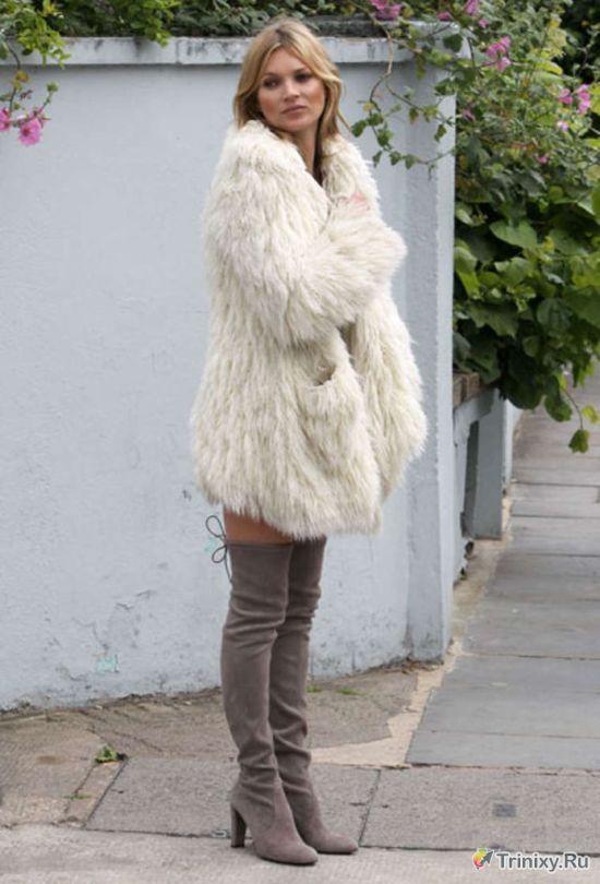Кейт Мосс появилась на съемках без нижнего белья (5 фото)