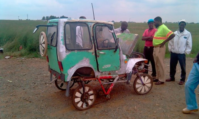 Akaryakıt Harcamayan Jeep