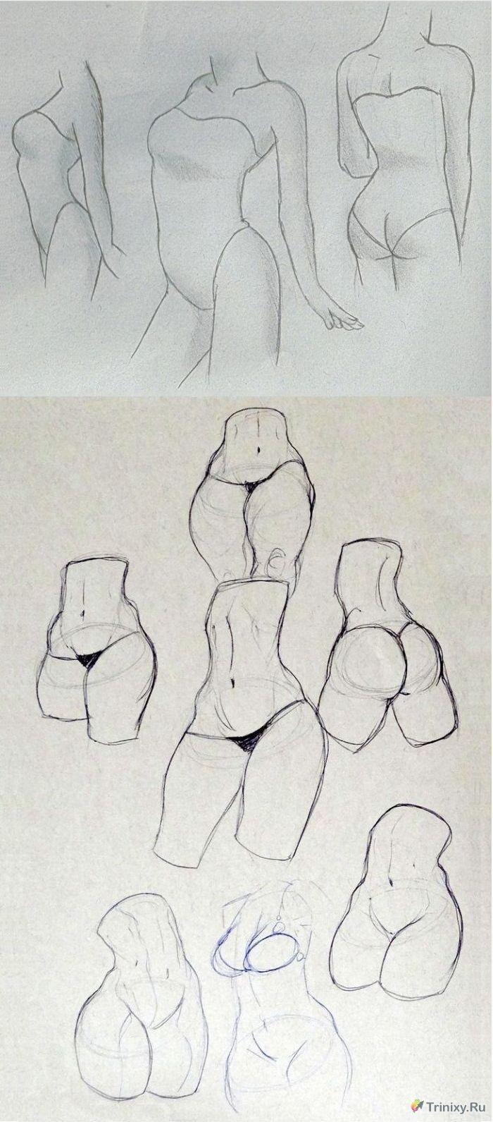 Рисовать голых девушек 16 фотография