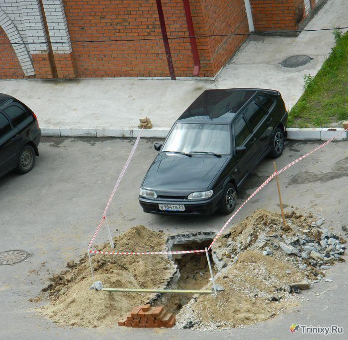 Подборка автомобильных приколов. Часть 25 (40 фото)