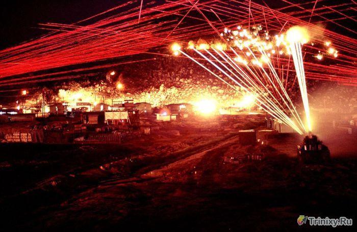 Необычные кадры во время войны во Вьетнаме (7 фото)