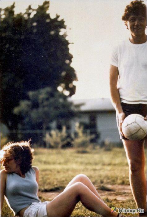 Знаменитсоти в молодости (19 фото)