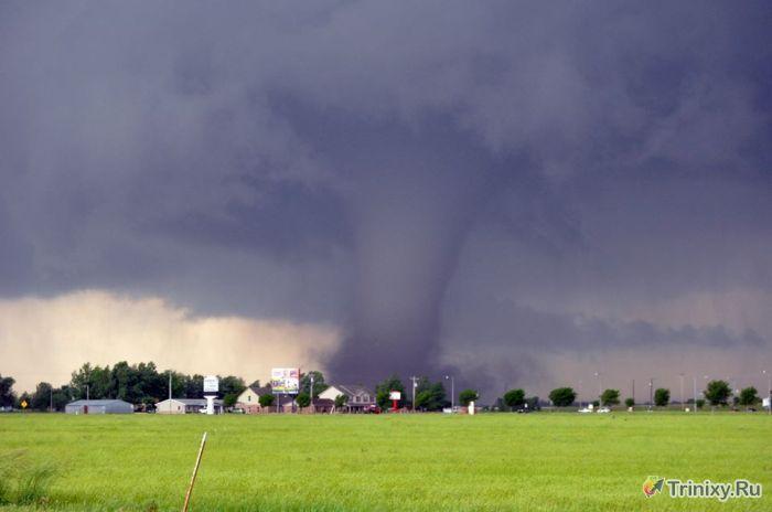 ТОП-15 самых страшных торнадо в США за 2013 (15 фото)