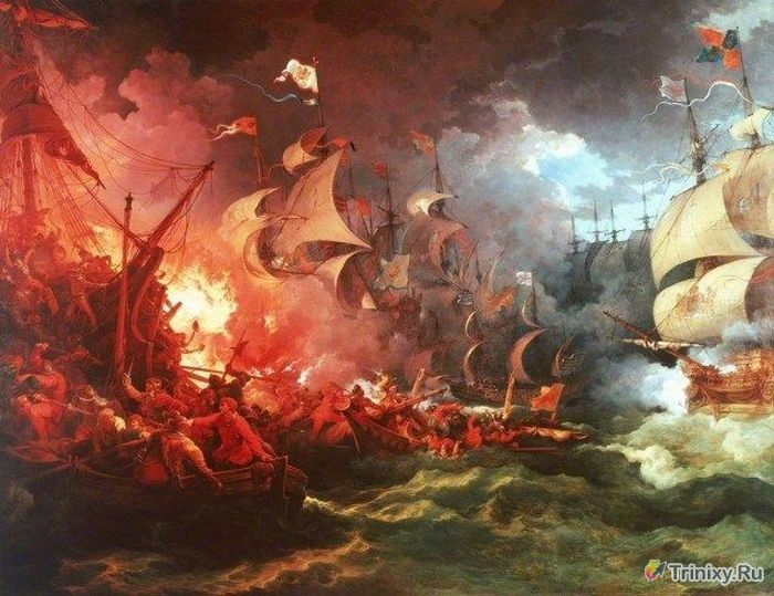 Сокровища затонувших кораблей (10 фото)