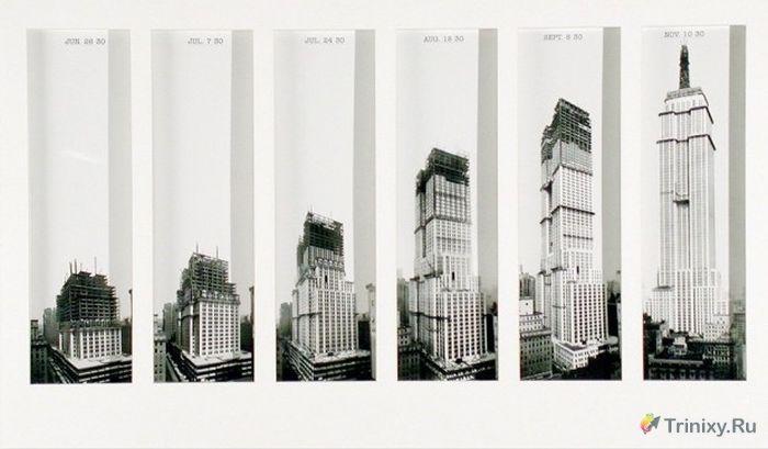 Архивные снимки строительства достопримечательностей (43 фото)